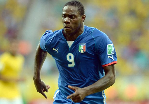 Injured Balotelli out for rest of Confederations Cup