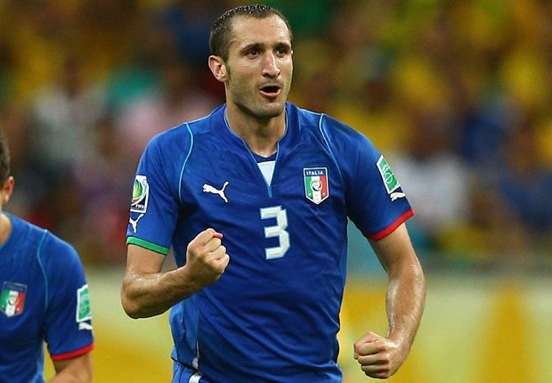 I wouldn't even consider leaving Juventus, insists Chiellini