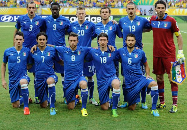 Italia akan berusaha membuat takut Spanyol di semi-final Piala Konfederasi