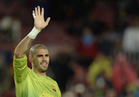 Mercato : Victor Valdés s'entraîne avec Manchester United