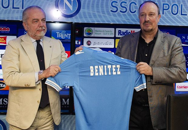 De Laurentiis menyebut Benitez sebagai pembelian terbaiknya di musim panas