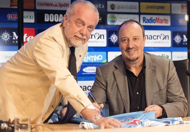 Rafa Benitez gaat voor prijzen met Napoli