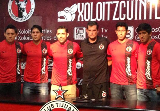 Xolos presenta cinco refuerzos de cara al próximo Apertura 2013