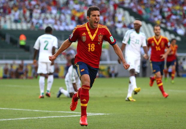 Jordi Alba proud of man-of-the-match performance