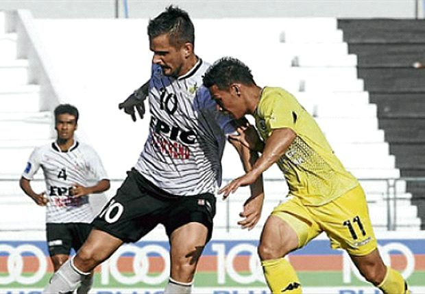 Damir Ibric was on target for the Titans against Felda United