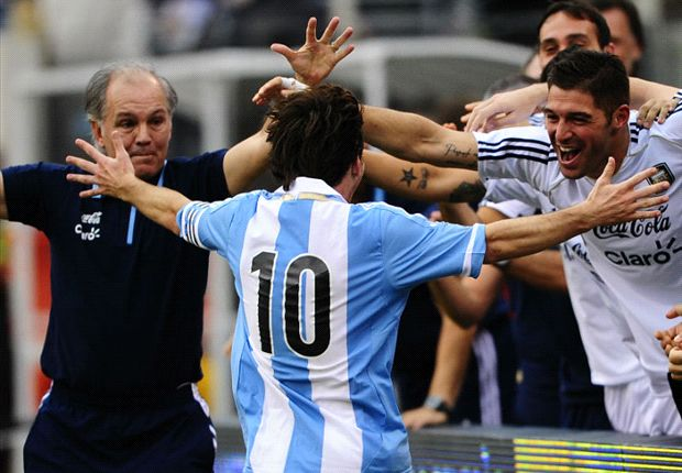 Argentina captaincy has helped Messi, says Sabella