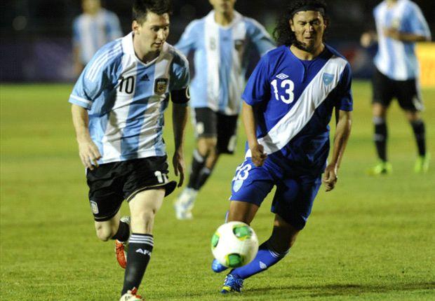 Lionel Messi im Trikot der argentinischen Nationalmannschaft