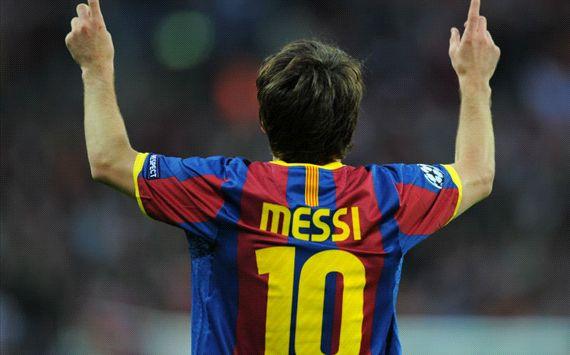 Lionel Messi festejo