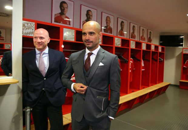 'Excuse my German' - Guardiola charms his new bosses in Bayern bow