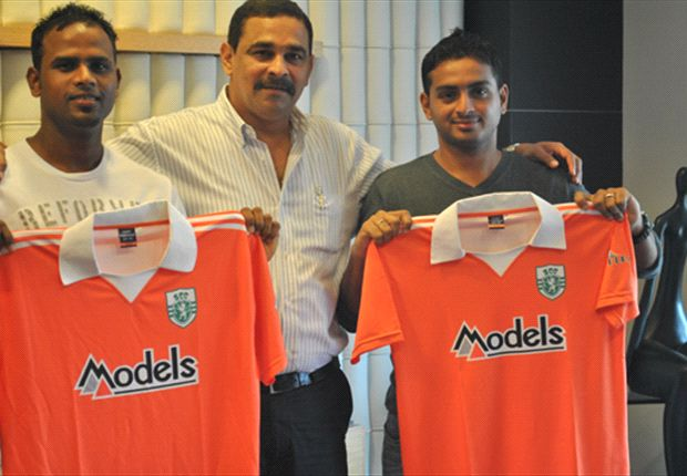 Former Salgaocar duo have joined Sporting Goa