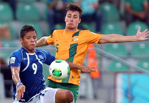 El Salvador shock sends Young Socceroos to brink