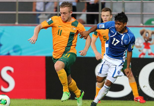Young Socceroos reach for higher ground