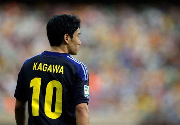 Japan midfielder Shinji Kagawa