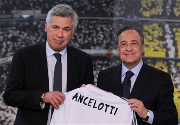 Perez warns Ancelotti: Madrid crave the Champions League