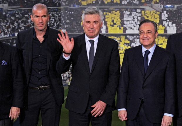 Ancelotti: It's a pity I can't put Zidane on the pitch