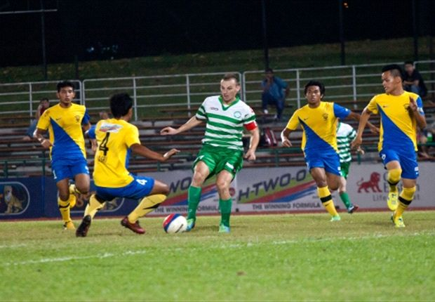 Geylang captain Jozef Kaplan (C) has been in sensational form in the 2013 season