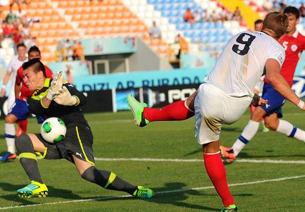 Chile Under-20s 1-1 England Under-20s: Tottenham striker Kane rescues valuable Group E point