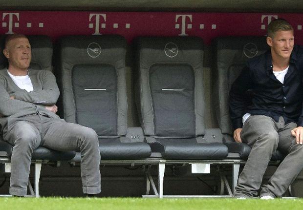 Bastian Schweinsteiger kann noch nicht ins Training einsteigen