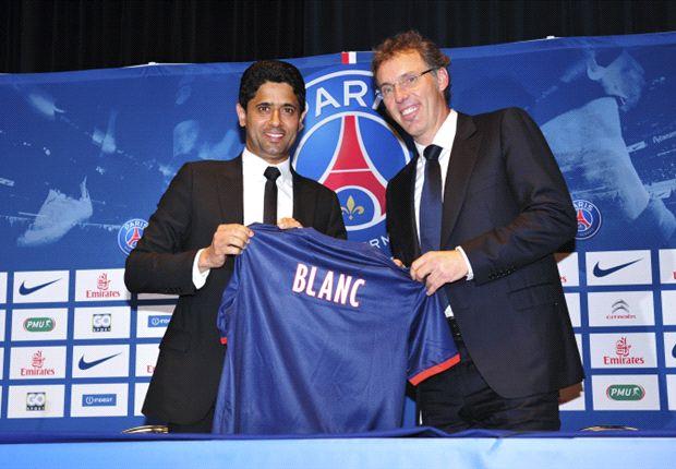 El exseleccionador nacional de Francia, en su primera conferencia de prensa como técnico del PSG