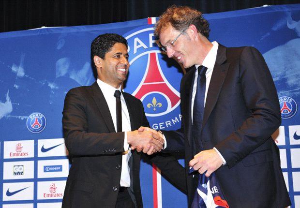 Nasser al-Khelaïfi est enthousiaste pour le mercato.