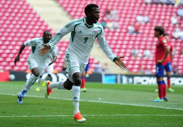 Kayode Olarenwaju will be a handful for the Uruguayans