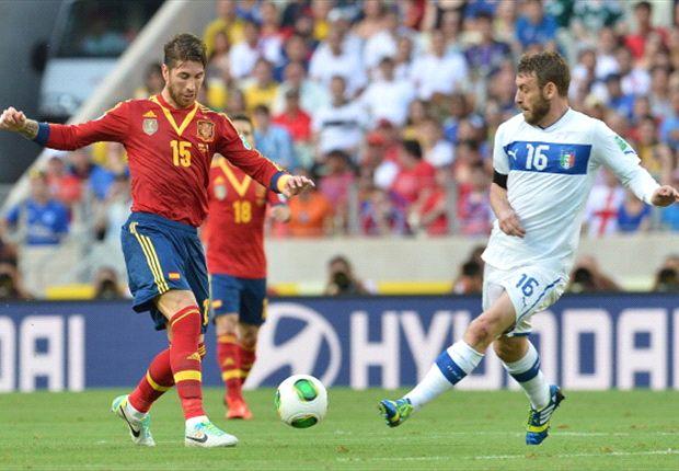 Sergio Ramos está encantado de jugar con Busquets en la selección