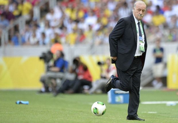 Del Bosque: Italy on the same level as Spain