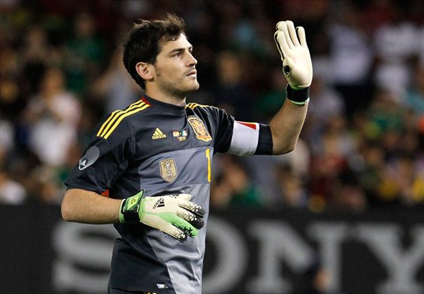 Zidane: I'm glad Casillas is still Spain No.1