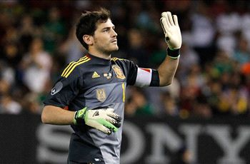 Zidane: I'm glad Casillas is still Spain No. 1