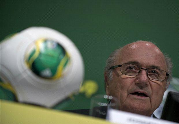 Joseph Blatter sacó pecho y dijo que esta edición de la competencia fue de las mejores que organizó la FIFA. Además se refirió a las manifestaciones y a la Copa del Mundo 2014.