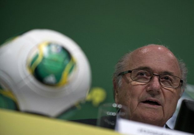 FIFA-Boss Sepp Blatter beim Confederations Cup 2013 in Brasilien