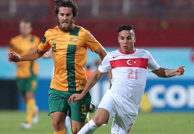 Young Socceroos crash out