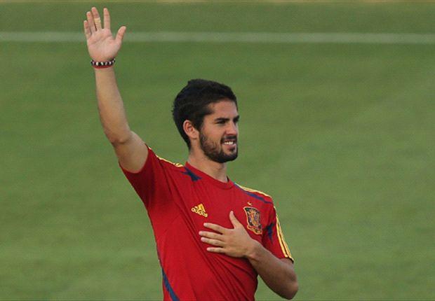 Isco fue el mejor jugador del Málaga