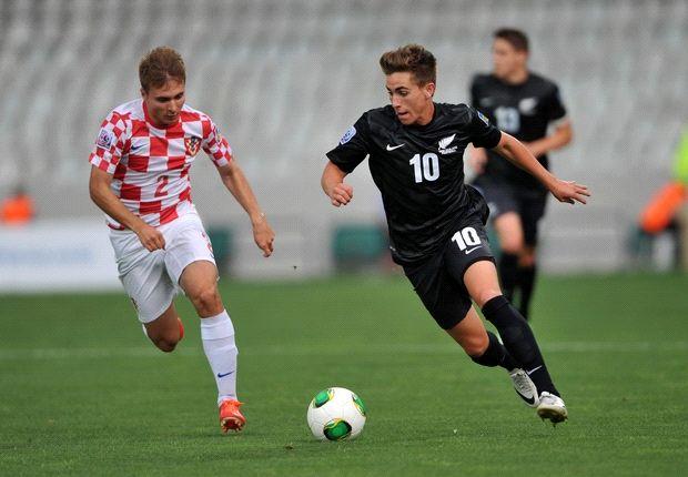 Kroatiens Toni Goupec gab gegen Neuseeland alles