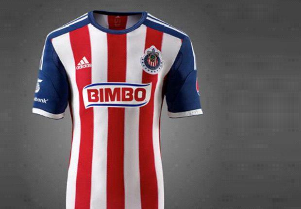 Chivas presenta nuevo uniforme para el Apertura 2013 y Clausura 2014