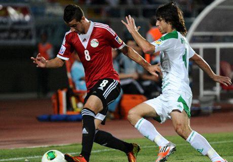 Résumé de match, Tunisie-Egypte (2-1)