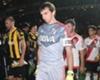 La lesión de Barovero contra Peñarol