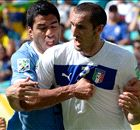 Chiellini: Suarez red could've saved Italy