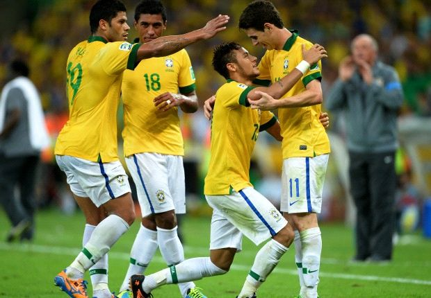 These are the world champions? Brazil batter Spain and will take some stopping in 2014