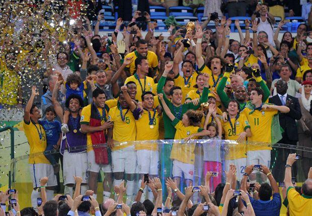 Brasil viene de ganar la Copa Confederaciones