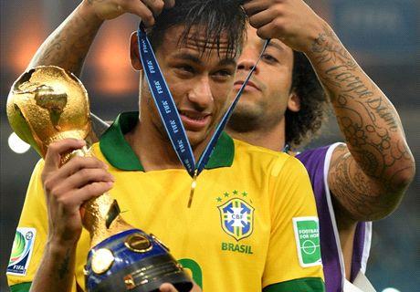 ► Neymar y Marcelo se preparan