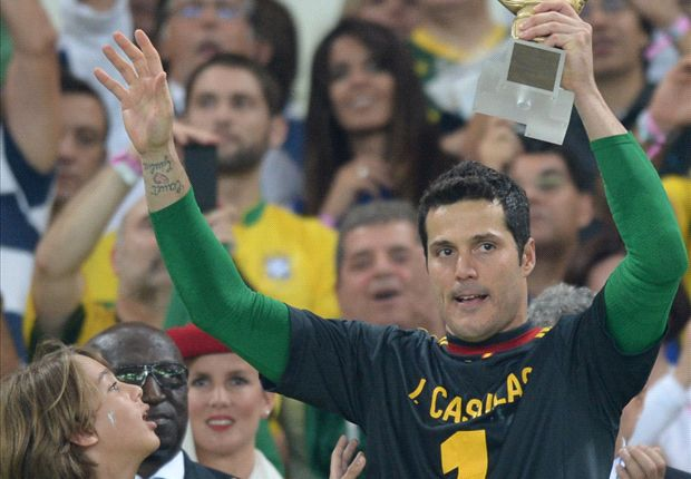 Julio Cesar odds on to join Arsenal following Confederations Cup triumph