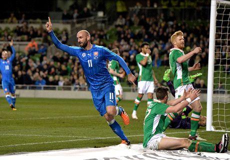 Ratings: Ireland 2-2 Slovakia