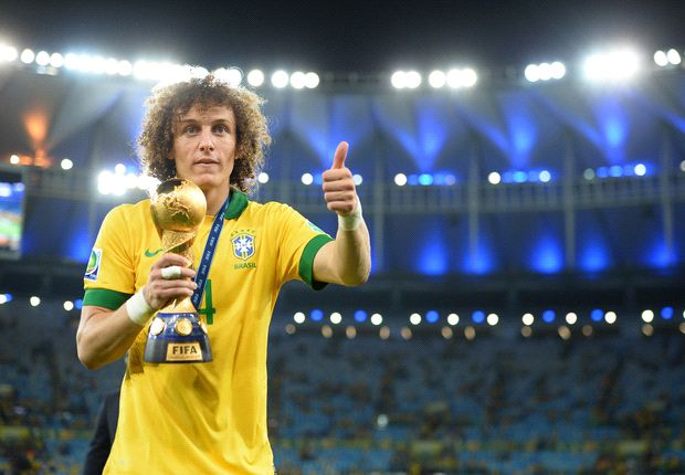 David Luiz tight-lipped on Barcelona rumours