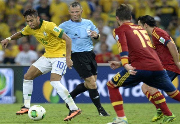 Xavi, Ramos y Casillas reconocieron la superioridad de Brasil