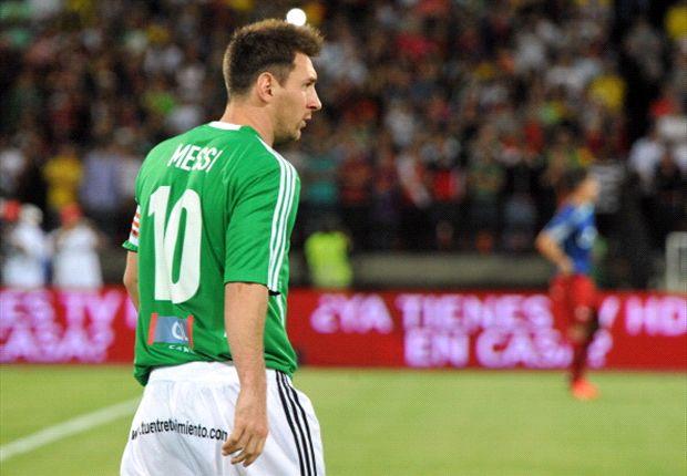 Leo Messi pasó también por Colombia.