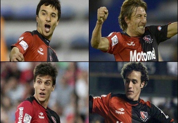 los cuatro jugadores habilitados