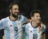 Higuain Messi Argentina v Bolivia Eliminatorias WC Qualifying South America 2018 29032016