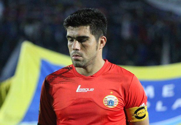 Fabiano optimistis Persija bisa menang atas Persib.
