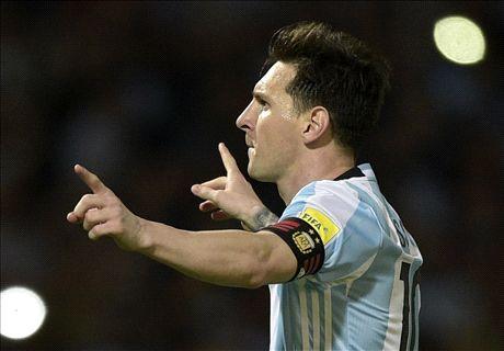 Messi ya ha hecho 50 goles con Argentina
